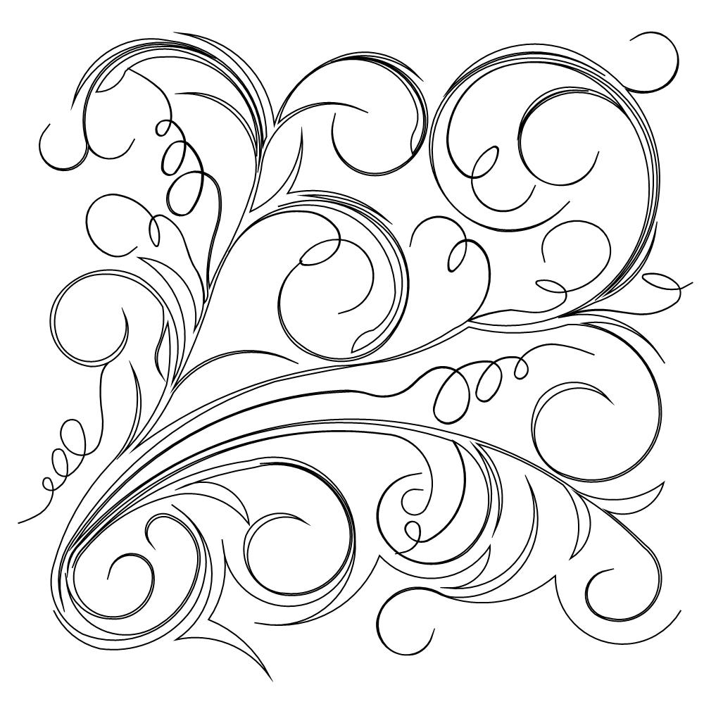 Blowing Wind Drawing