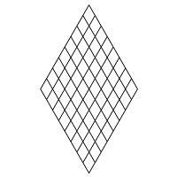 60 diamond grid