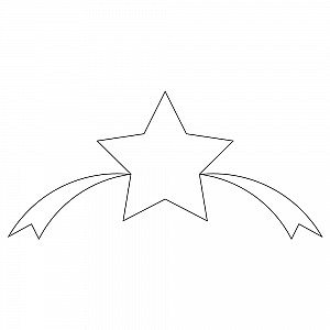 ribbon star element 001